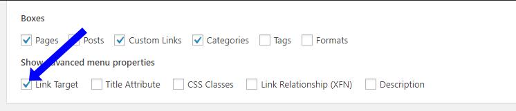 link-target-menu