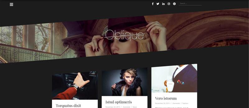 oblique-theme-wordpres-free