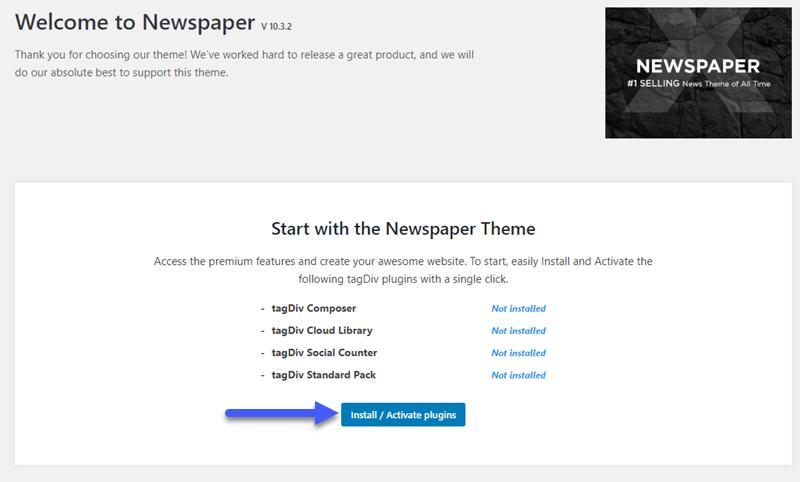 install active-newspaper