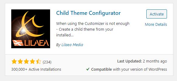 child-theme-configurator