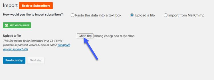 import-mailpoet
